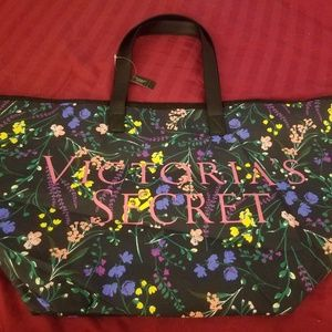 Victoria Secret Floral Tote Bag
